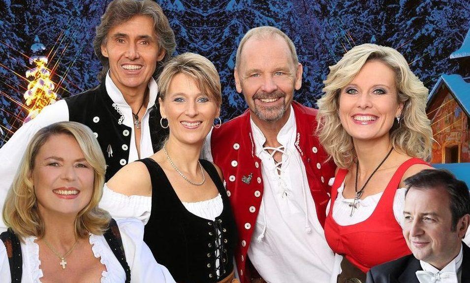 Die Schäfer, Angela Wiedl und Richard Wiedl stimmen auf Weihnachten ein!