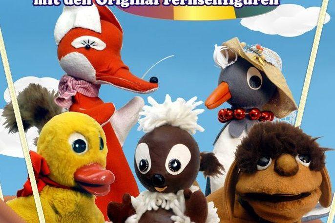 Plakat zu PITTIPLATSCH UND SEINE FREUNDE Ein neues Programm mit den Original Fernsehfiguren