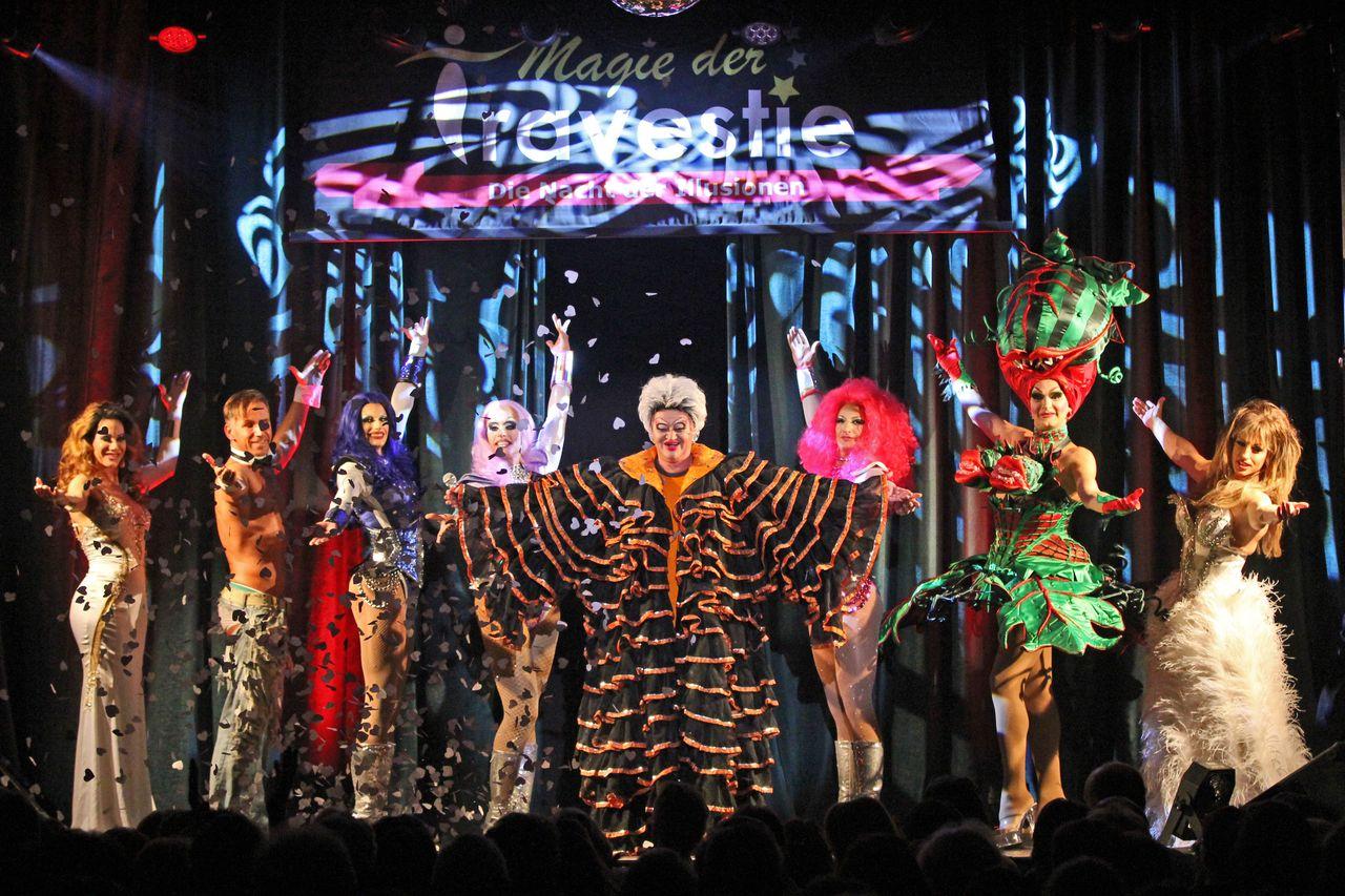 Showfoto Magie der Travestie - Die Nacht der Illusionen