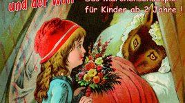 """Rotkäppchen und der Wolf"""" live auf der Theaterbühne"""