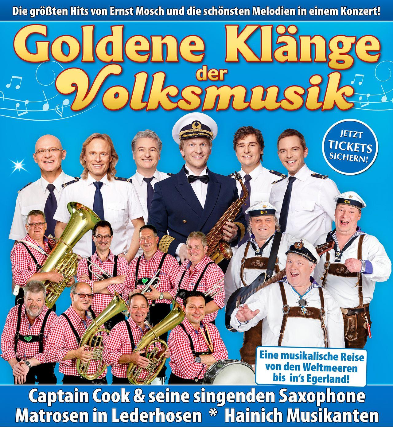 Die größten Hits von Ernst Mosch und die schönsten Melodien in einem Konzert.