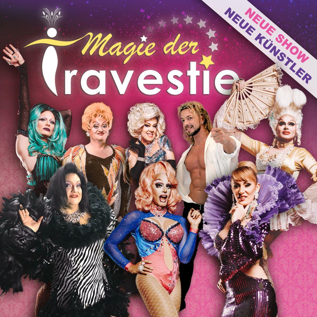 """Banner """"Magie der Travestie"""""""